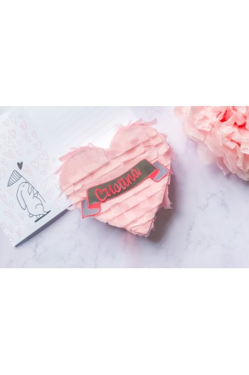 Corazón San Valentín Mini Piñata