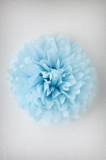Papel de seda - Bleu Arctique