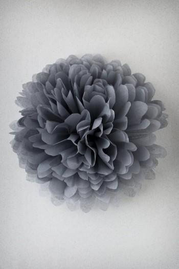 Pompon Gris Perle