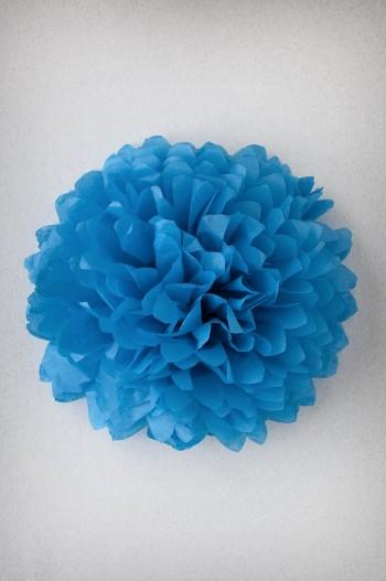 Pompon Bleu Turquoise