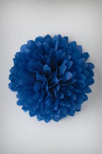 Pompon Bleu Marine