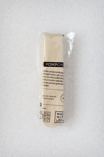 Pompon Ivoire