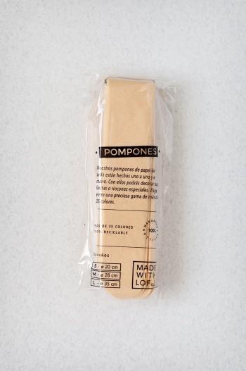 Pompon Vanille