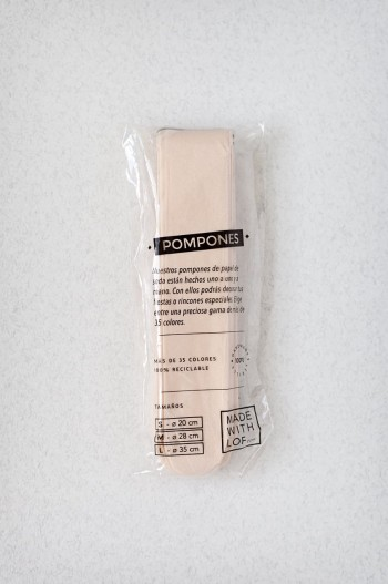 Pompon Champagne
