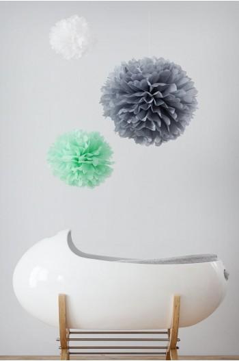Kit deco habitación infantil/ 3 pompones - Personalizable