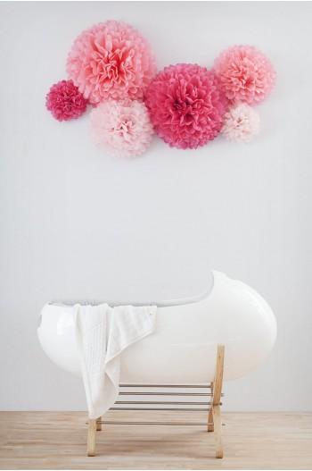Papel de seda rosa