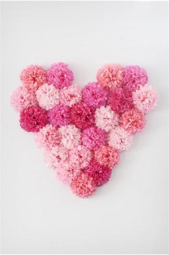Papel de seda - Rose Vif
