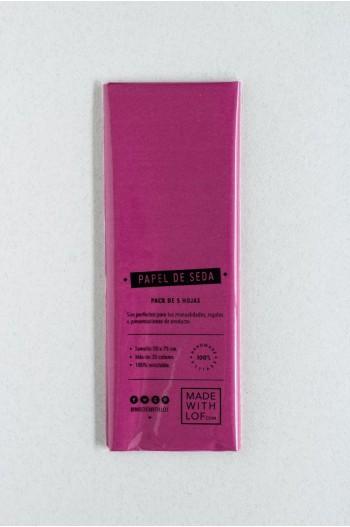 Papel de seda - Fuchsia