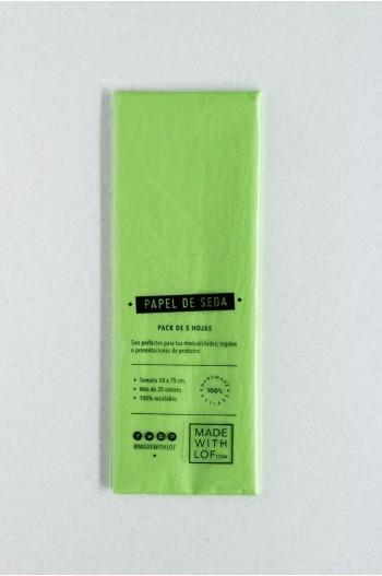 Papel de seda - Vert pomme