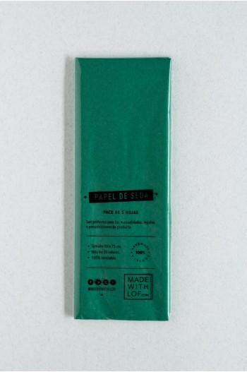 Papel de seda - Jade
