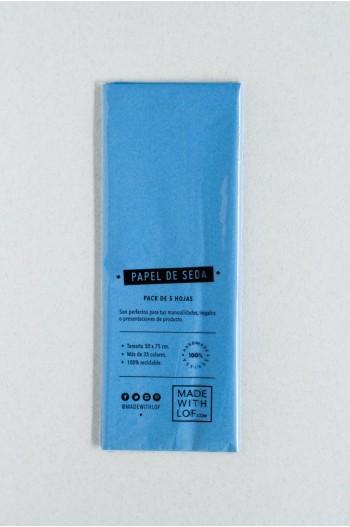 Papel de seda - Bleu Ciel