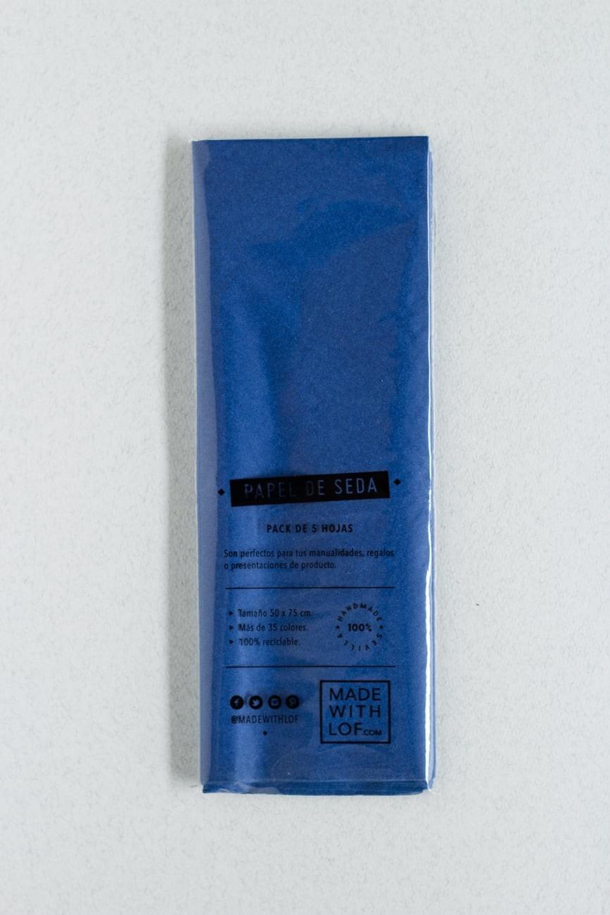 Papel de seda - Bleu Marine