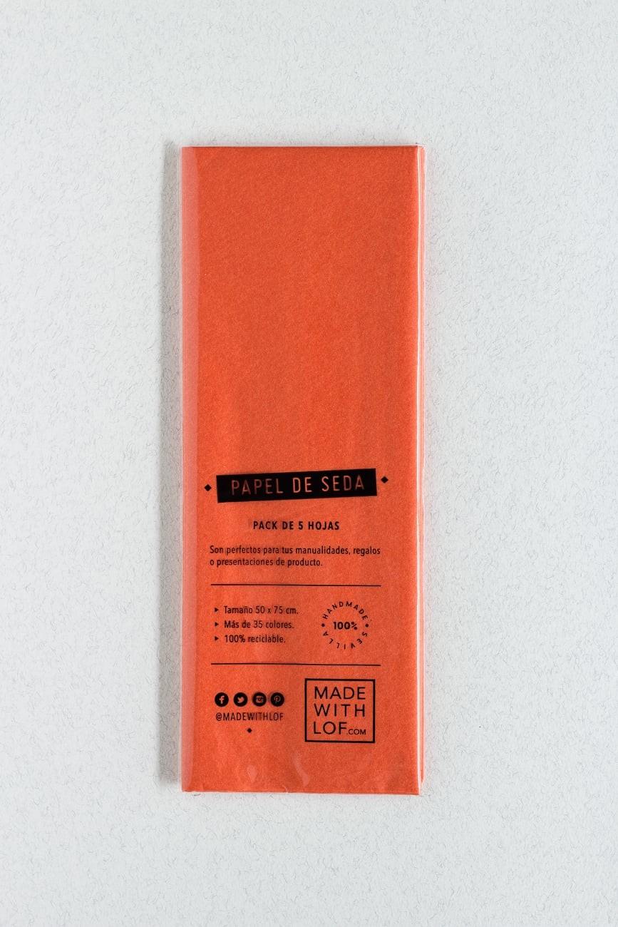 Papel de seda - Orange