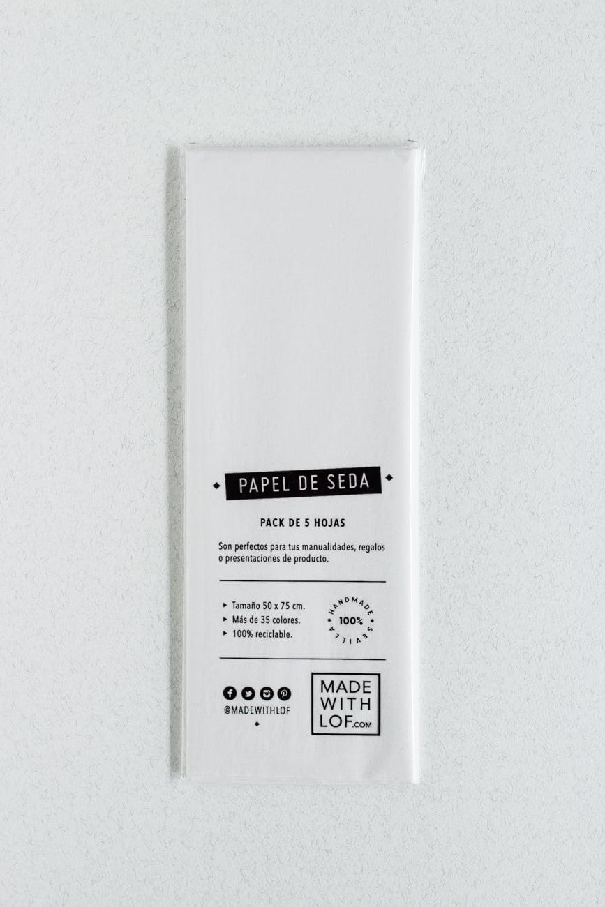 Papel de seda - Blanc