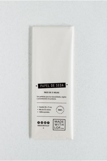 Papel de seda - Blanc Lauzon
