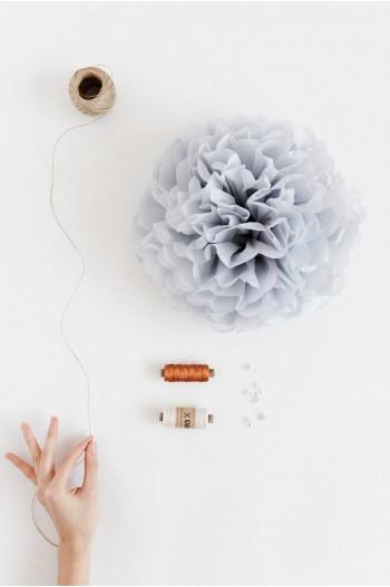 Pompon Bleu Arctique