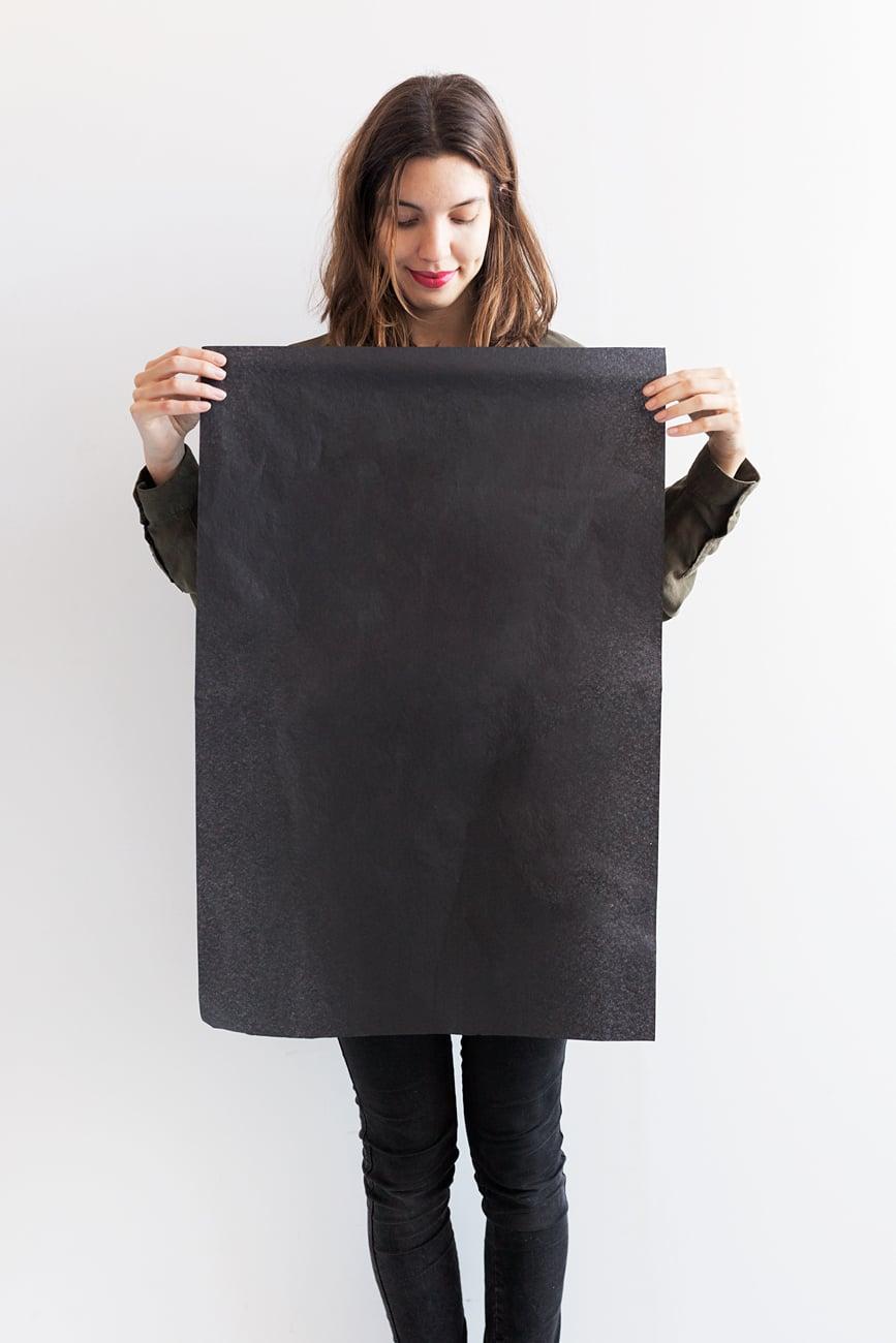 Tamaño del pliego de papel de seda 50x75cm.